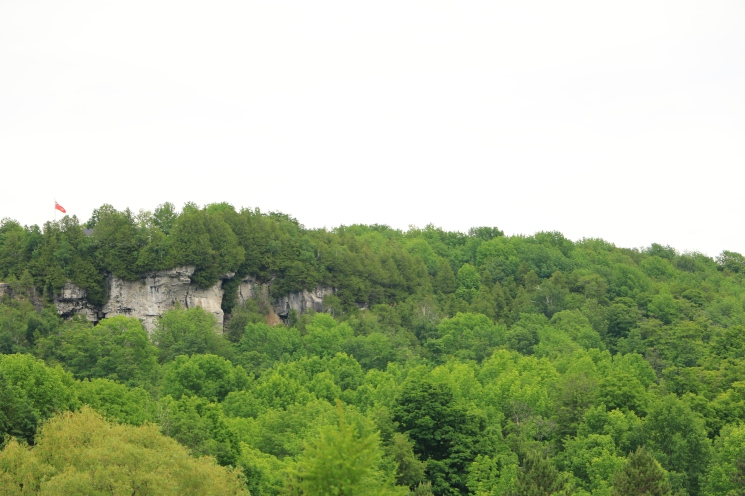 Bluffs from Inglis Falls